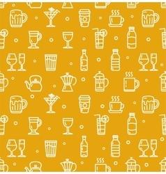 Drink background for bar restaurant vector