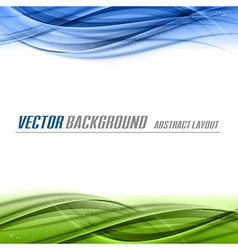 Green Blue vector image vector image