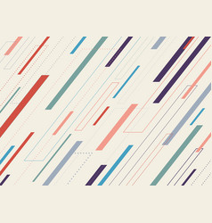 abstract geometric dash lines diagonal pattern vector image