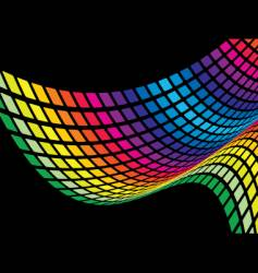 Abstract rainbow wave vector