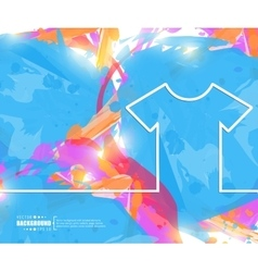 Creative tee shirt Art vector