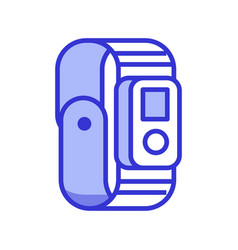 Fitness tracker icon vector