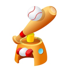 icon baseball vector image