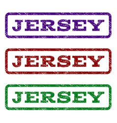 Jersey watermark stamp vector