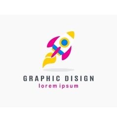 Rocket Logo Concept vector