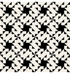 Seamless Geometric Triangle Square Pattern vector