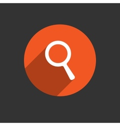 Search Icon Magnifying Glass vector image