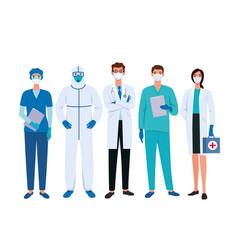 set doctors vector image