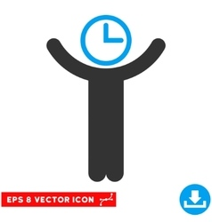Time Manager Eps Icon vector