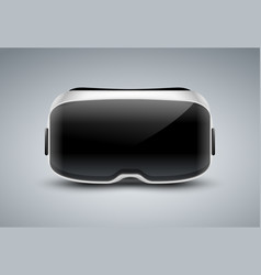 Vr glasses virtual reality headset icon vector