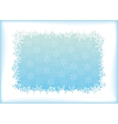 Abstract blue - white background vector image vector image