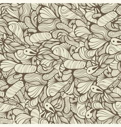 seamless funky pattern vector image vector image