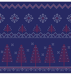 Winter Christmas New Year Background vector image vector image