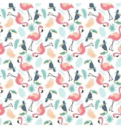 Tropical Seamless pattern vector image vector image