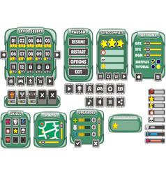 Game gui 19 vector