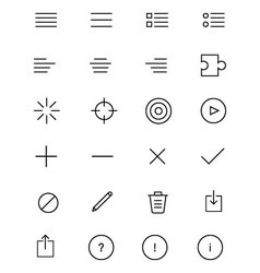 IOS and Android Icons 5 vector