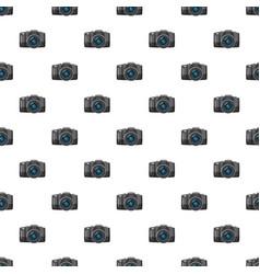 Photo camera pattern vector
