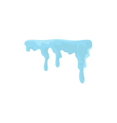 Snowdrift icon flat style vector