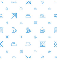 Steam icons pattern seamless white background vector