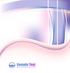 futuristic business card vector image vector image