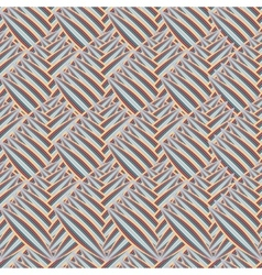 seamless texture with abstract leaves vector image