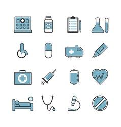 127medical icon vector