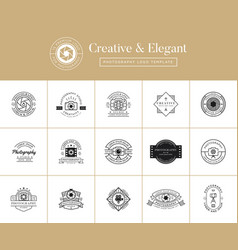 15 premium photography logo vector