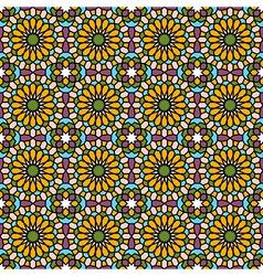 Arabic mosaic vector image