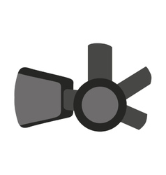 augmented reality glasses icon vector image