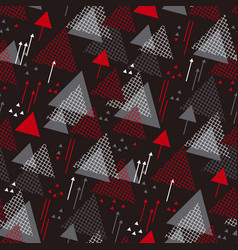 dynamic color seamless pattern vector image