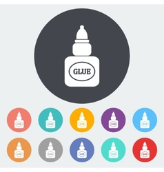 Glue icon vector image