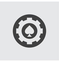 Spades icon vector image
