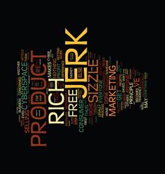 The niche jerk text background word cloud concept vector
