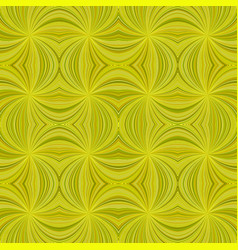 yellow seamless psychedelic abstract curved vector image
