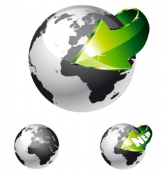 global delivery vector image
