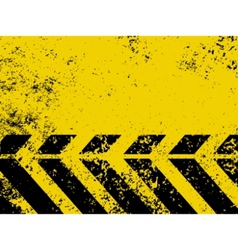 hazard stripe vector image vector image