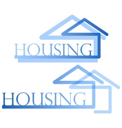 Housing symbol vector image vector image