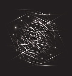 Abstract black background vector image