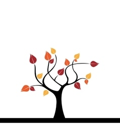 Abstract Cute Tree vector image