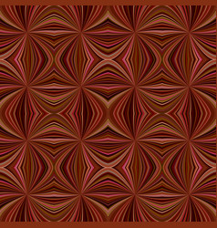 brown seamless abstract hypnotic swirling burst vector image