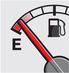 Car Gas tank Indicator vector