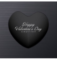 Dark Valentine Background vector image