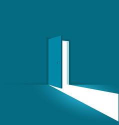 Door is open vector