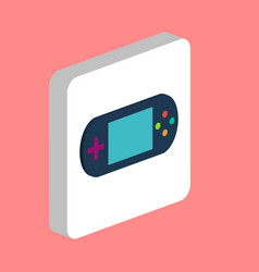game gadget portable console computer symbol vector image