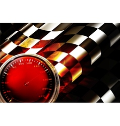 Racing Background Horizontal vector image