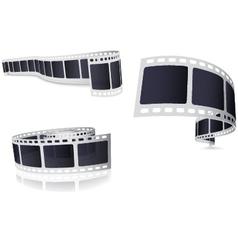 Camera Film Roll Set vector image