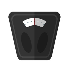 analog weight scale fitness vector image