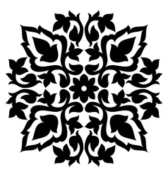 Antique ottoman turkish pattern design sixty seven vector