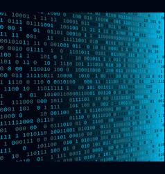 binary code internet security concept vector image