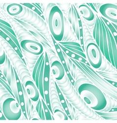 Decorative waves background vector image